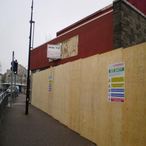 Blaneau Gwent Demolition of Retail Store