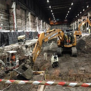 Installation of FIMI Machinery at Llanwern Works