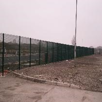 Fencing Works at Llanwern Works