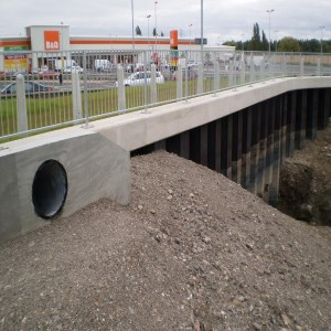 Lliswerry Pill, Flood Defence Scheme