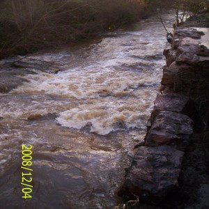 River Row, Bron Afon Housing - River Defences