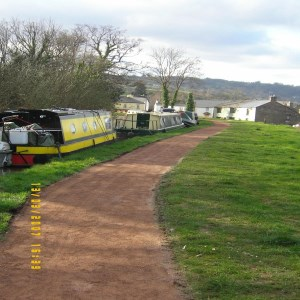 Monmouthshire to Brecon Canal, pathways